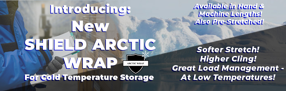 New Arctic Wrap from Wraptite for cold temperature storage