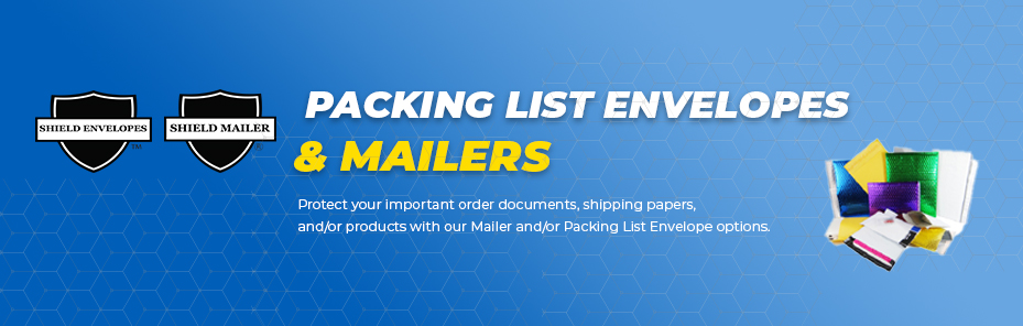 Packing List Envelopes & Mailers