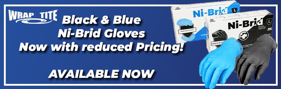 Nitrile Vinyl Hybrid Alternative disposable gloves