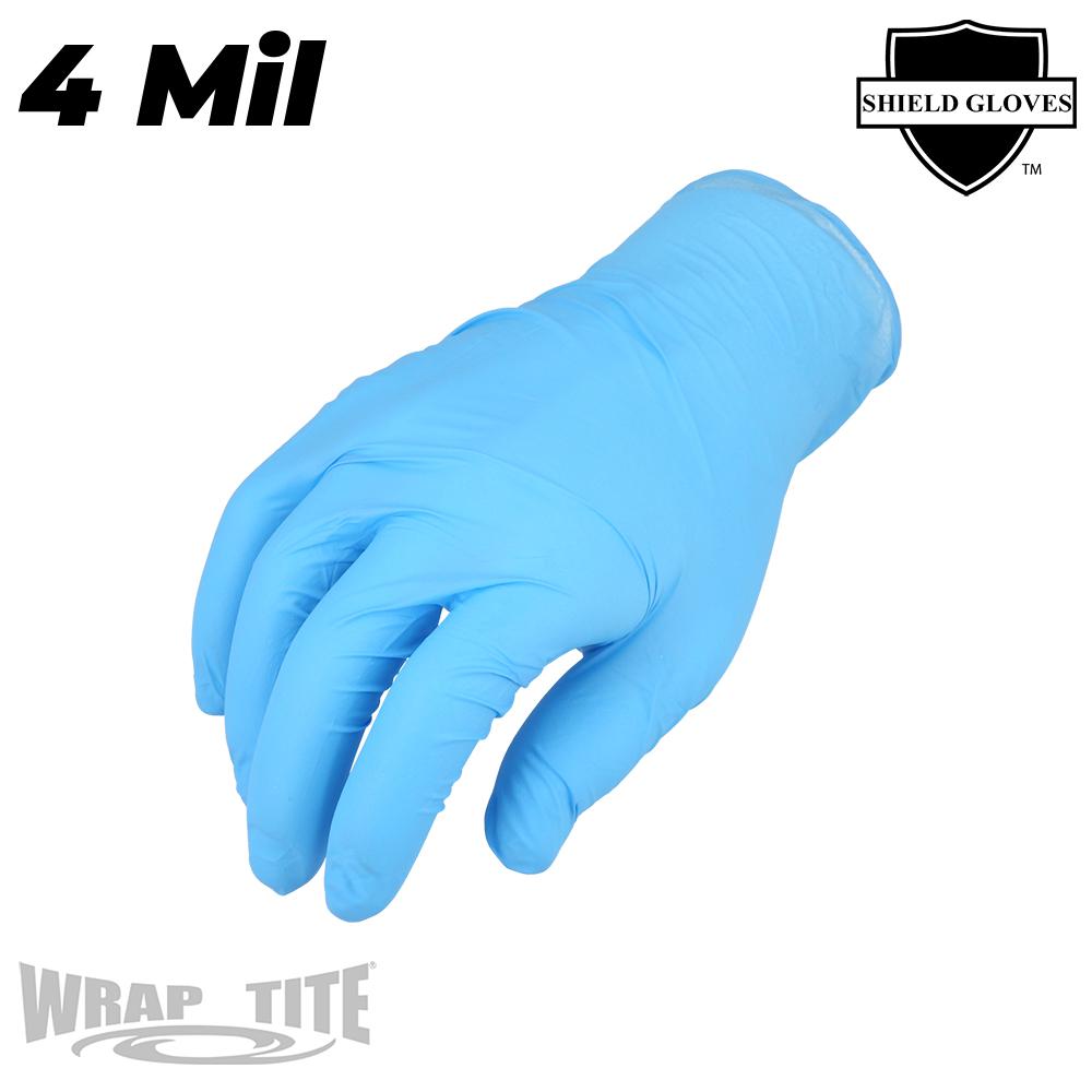 4 Mil Blue Nitrile - Exam Grade