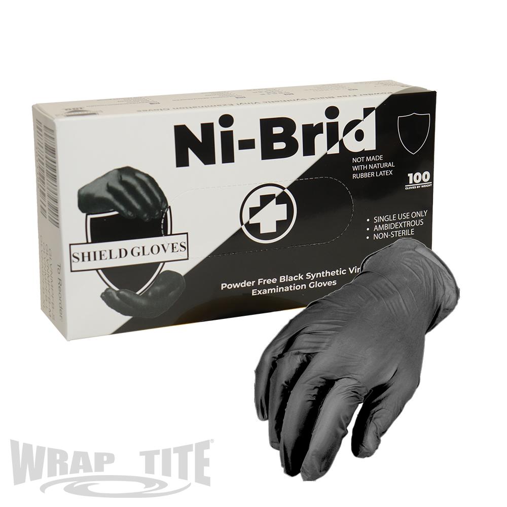 Black Ni-Brid Gloves