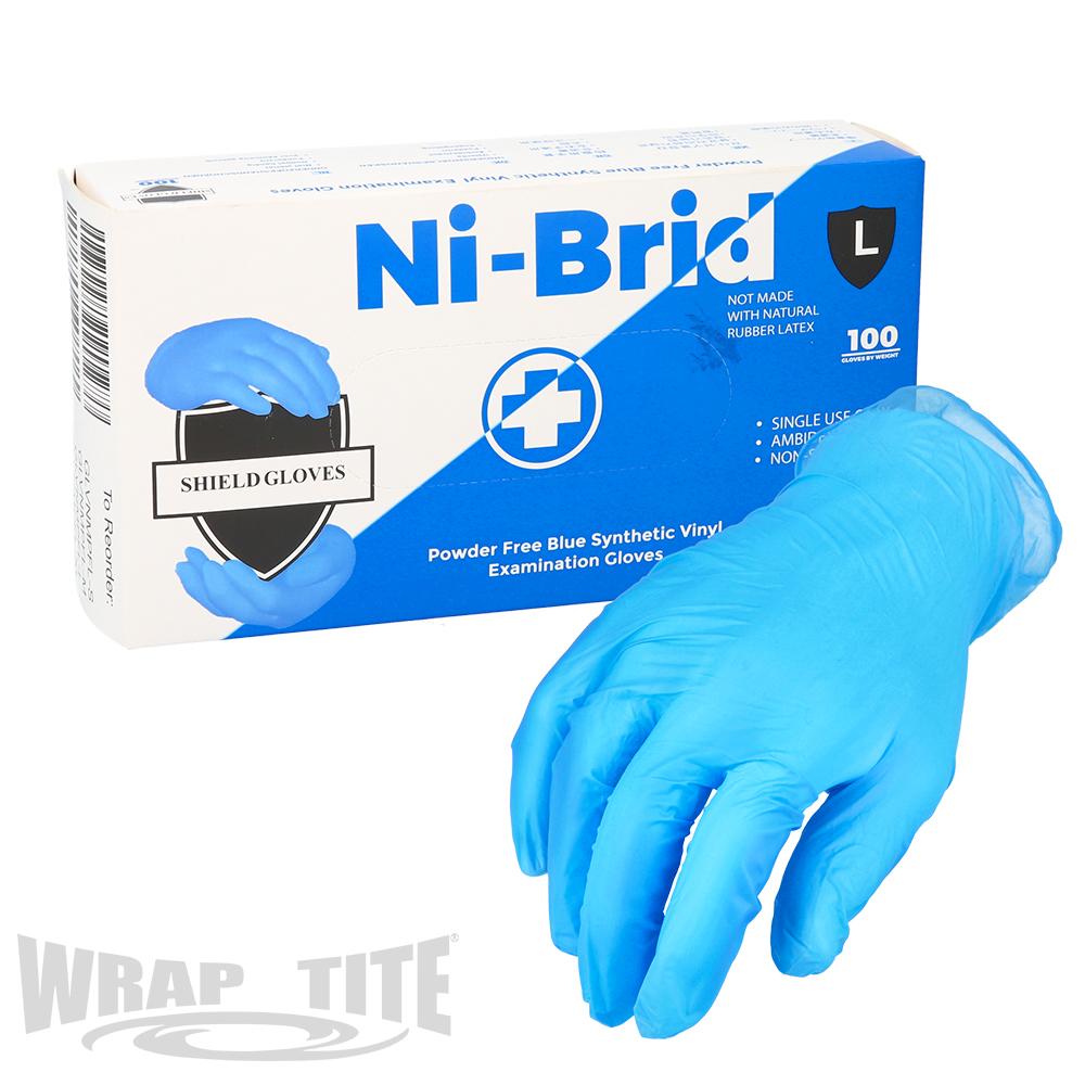 Blue Ni-Brid Gloves