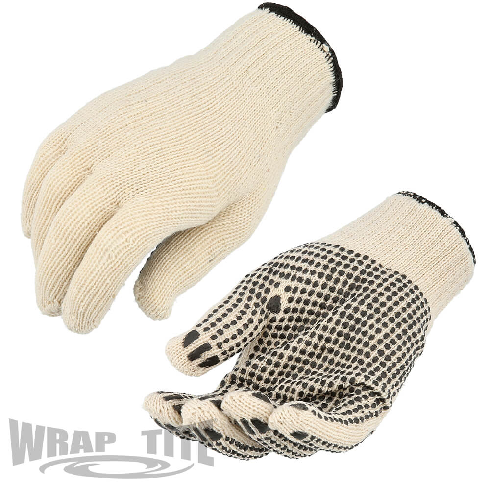 PVC Double & Single Dotted Gloves