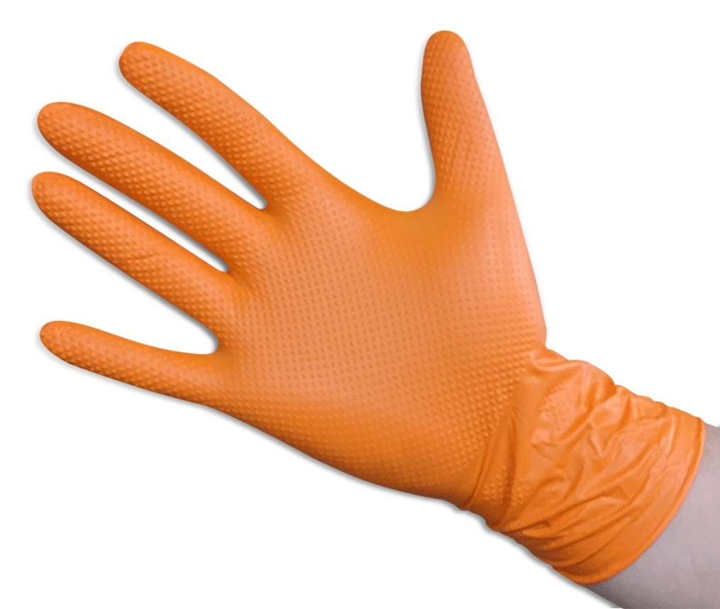 Orange Nitrile