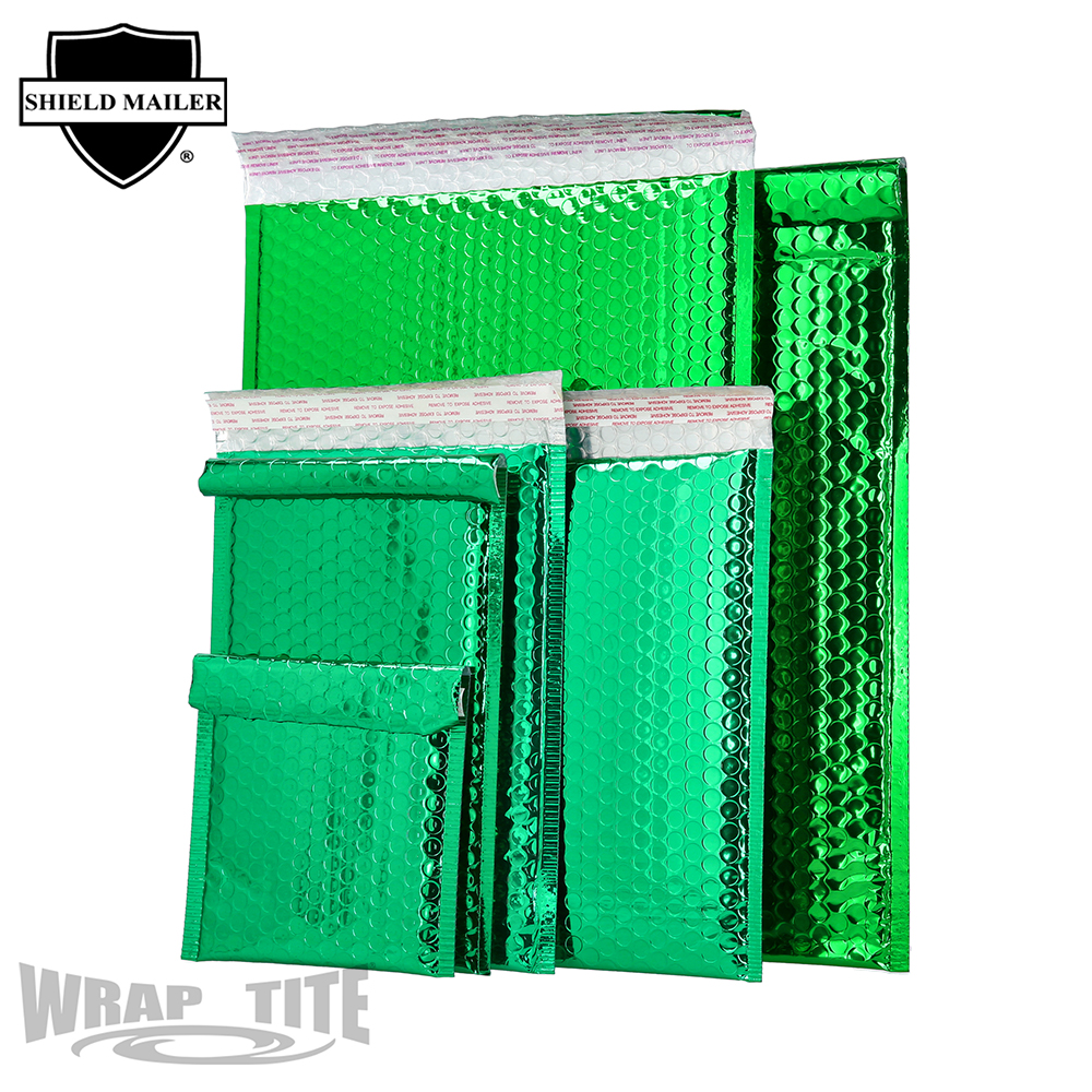 Green Bubble Mailers