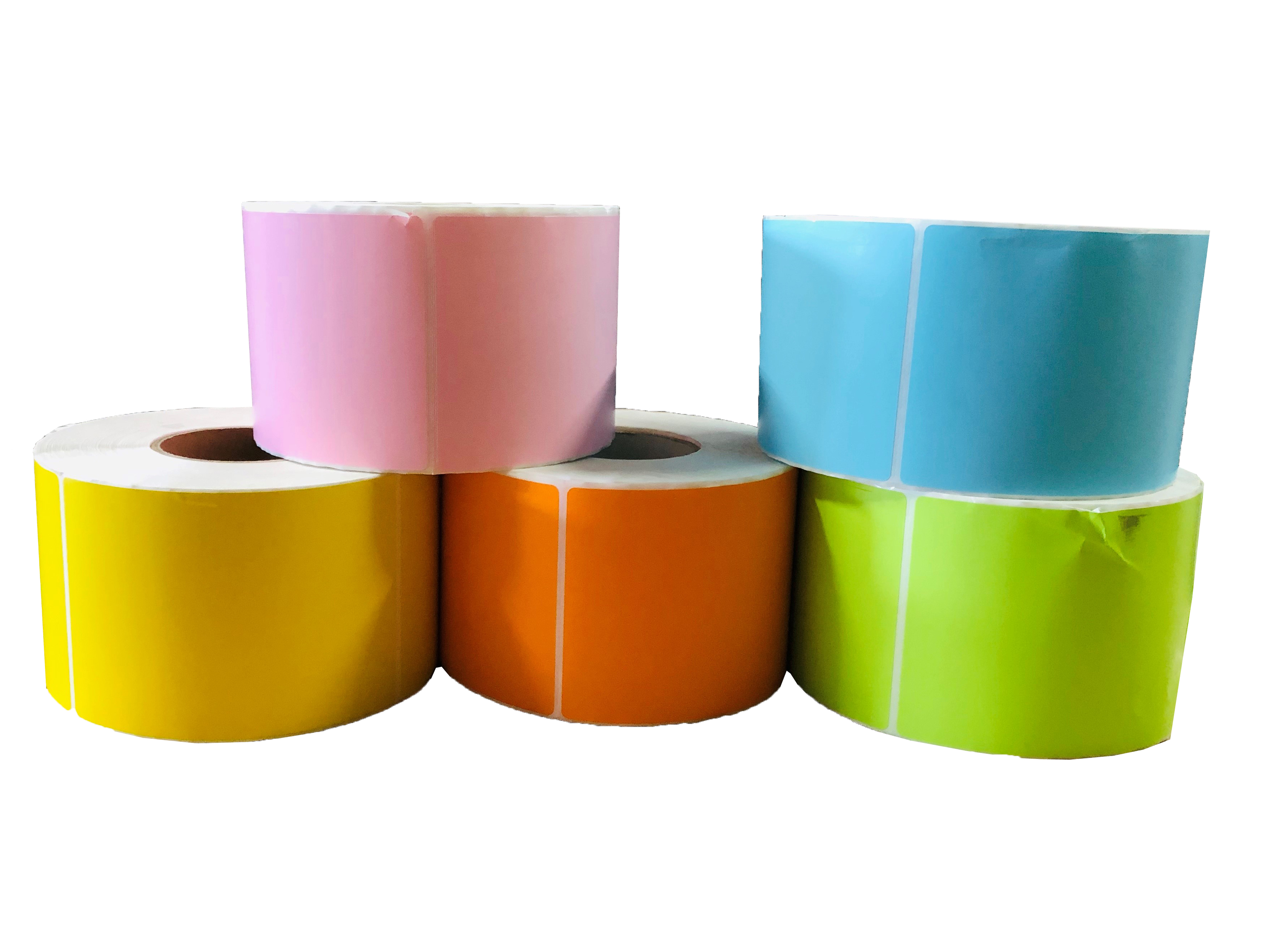 Color Thermal Transfer Labels - Ribbon Required