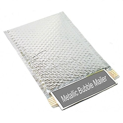 Silver Bubble Mailers