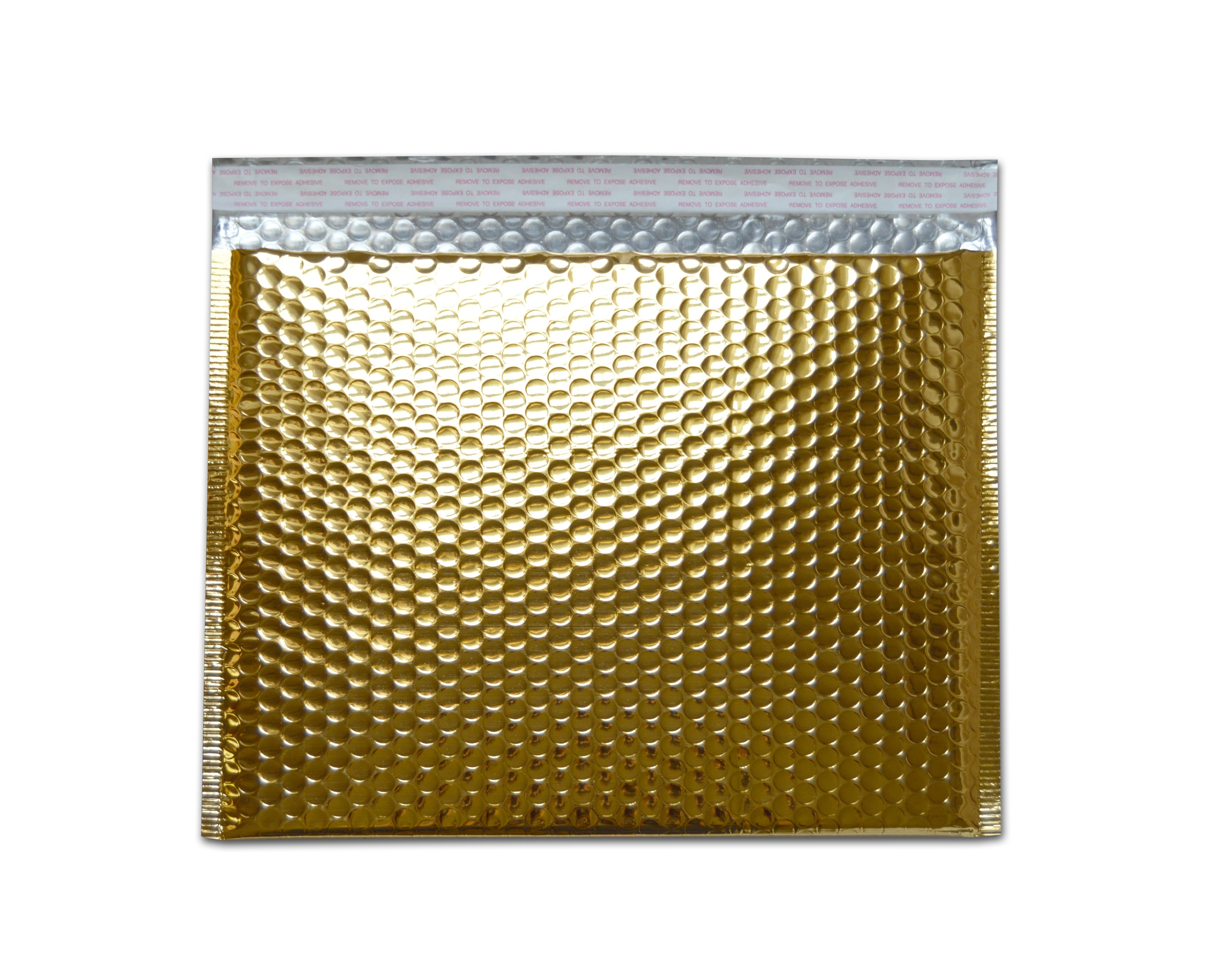 Gold Bubble Mailers