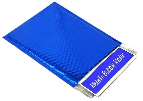 Blue Bubble Mailers