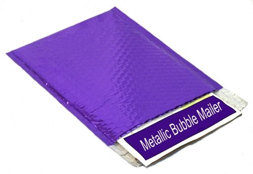 Purple Bubble Mailers