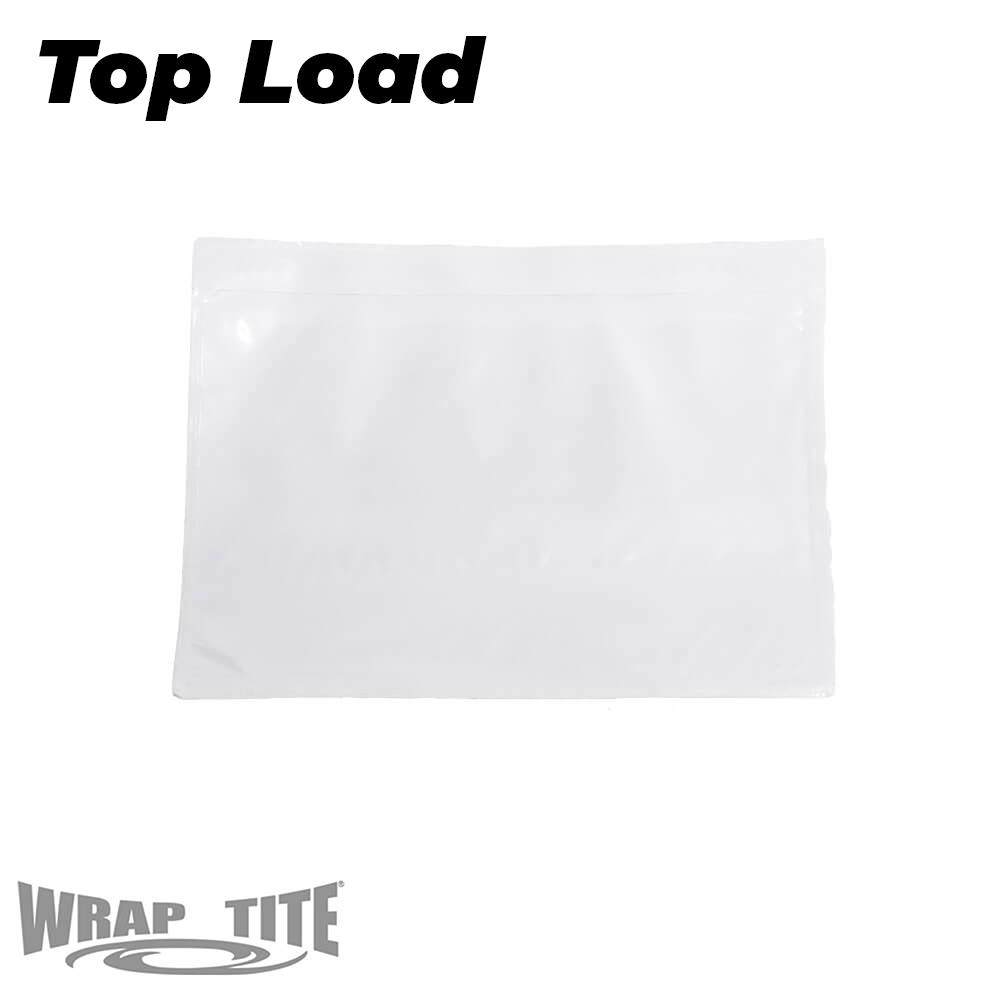 Plain face top side load
