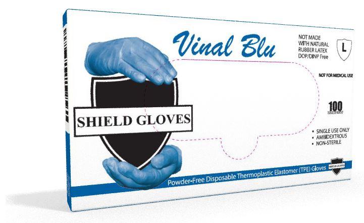 Blue VINAL Gloves