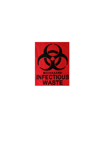 1.5 Mil LD Red Infectious Waste Liners
