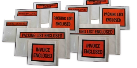 Shield Packing List Envelopes
