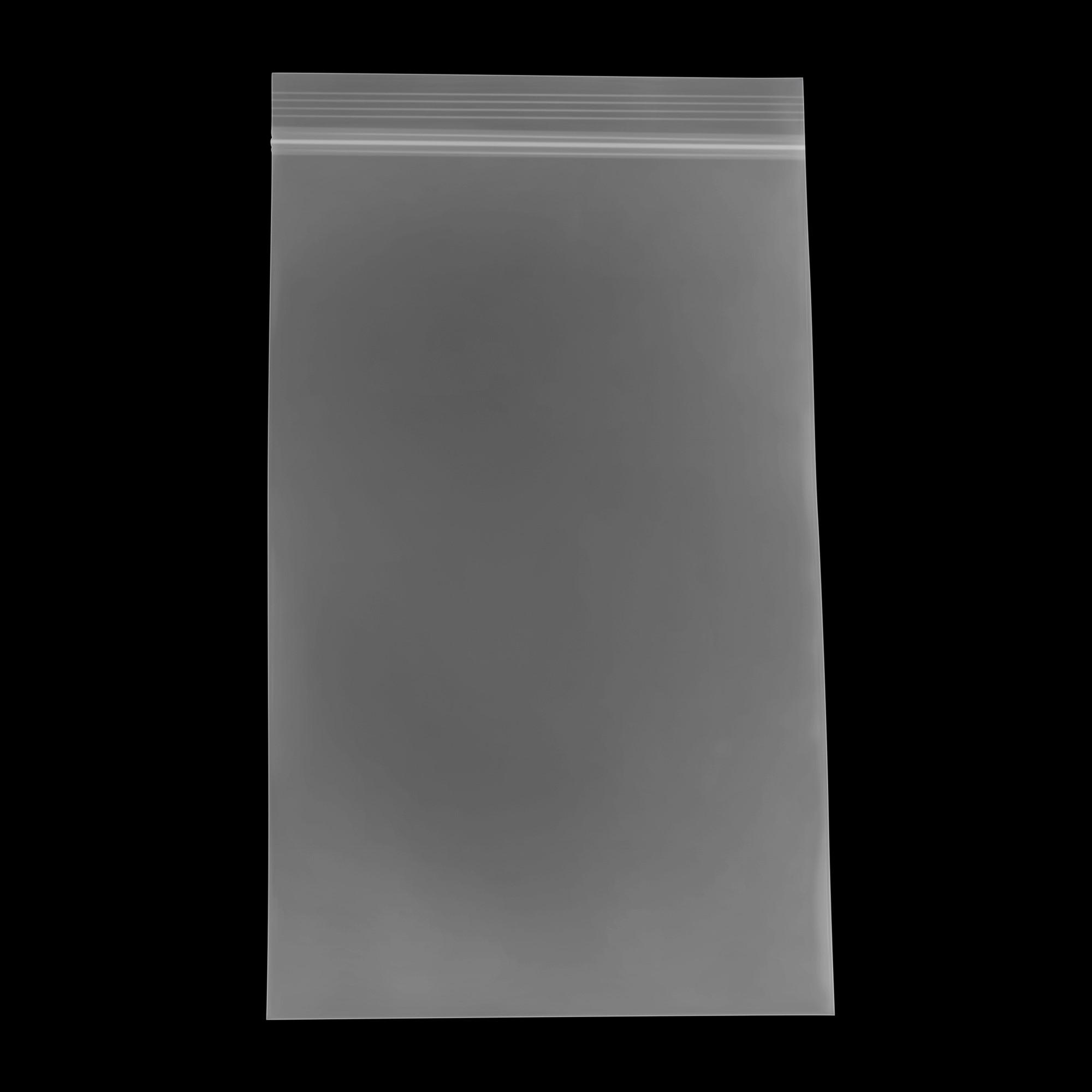 4 Mil Bauxko 18 x 20 White Block Reclosable Poly Bags 25-Pack x-PB4013-25