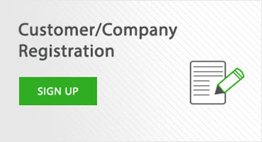 Customer/Company Registration